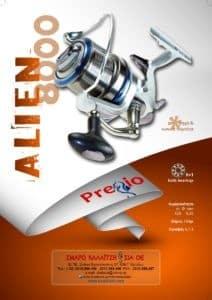Pregio Alien 8000 διαφήμιση (2)