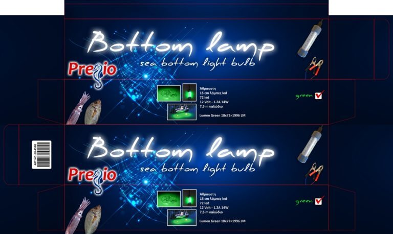Pregio Bottom lamp green