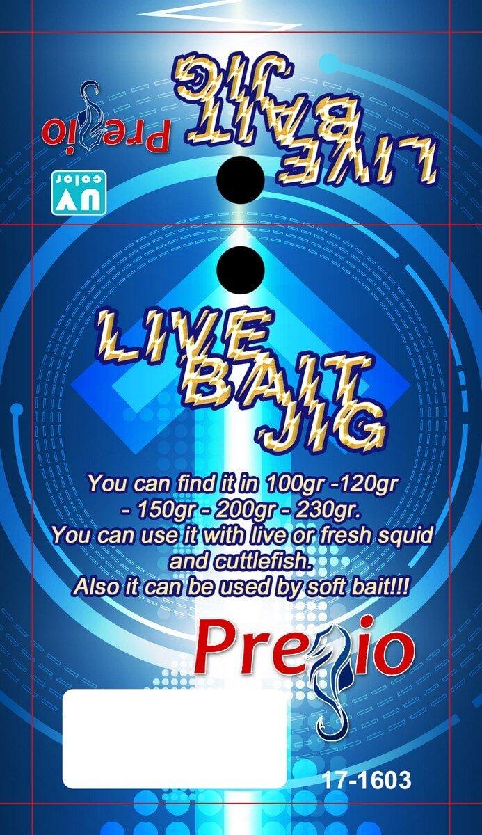 Pregio Live Bait Jig 1 έξω
