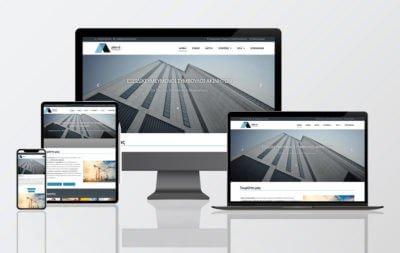 κατασκευή ιστοσελίδας σε τεχνική εταιρία στη Θεσσαλονίκη